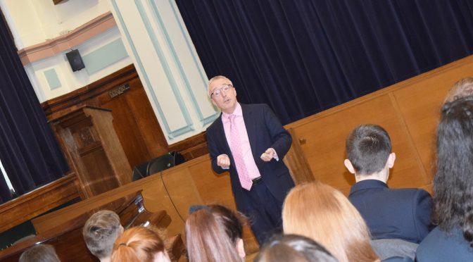 Sir Martin Donnelly inspires students