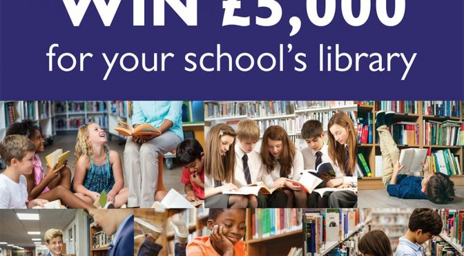 Help Cowley win £5,000 of National Book Tokens for our school library!