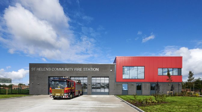 Cowley students complete Beacon Project with St Helens Fire Service